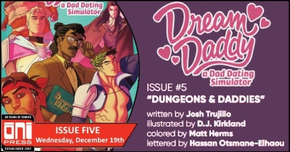 [Preview] Oni Press' 12/19 Release: DREAM DADDY #5